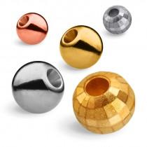 Korale wolframowe - tungsten beads