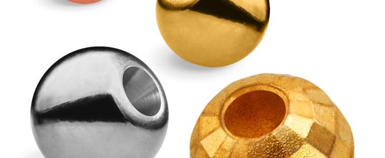Korale, główki wolframowe Tungsten Beads